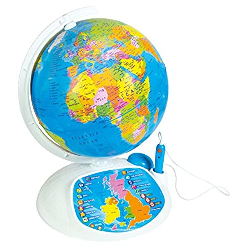 Interactive world maps amazon clementoni 61302 explore the world the interactive globe toy gumiabroncs Image collections