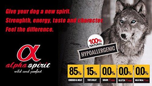 Crocchette Cane Adulto Alpha Spirit Multiprotein Super Premium 85% carne 5,67kg Cibo Alimento Secco Cane