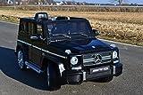 SL Lifestyle Kinderauto Elektroauto Mercedes-Benz G63 AMG Kinderfahrzeug Originallizenz! Fernbedienung! Eva Räder ! 12V, 2 Motoren je 45W, MP3 - Eingang
