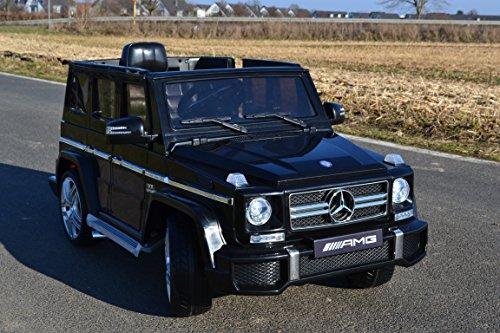 Kinderauto Elektroauto MERCEDES-BENZ G63 AMG Kinderfahrzeug Originallizenz! Fernbedienung! EVA Räder ! 12V , 2 Motoren je 45W, MP3 - Eingang