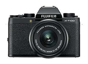 Fujifilm X-T100 Black with Black XC15-45mm lens F 3.5-5.6 OIS PZ