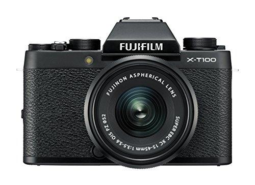 Fujifilm X-T100 + obiettivo 15-45mm