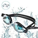 Tusscle Schwimmbrillen, Unisex Anti-Beschlag Schwimmbrillen, Kein Leck, UV Schutz, Einstellbar, Einfach zu Tragen