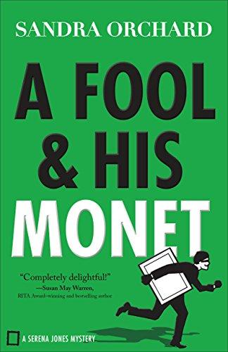 A Fool and His Monet (Serena Jones Mysteries Book #1) - Louis Womens Shorts
