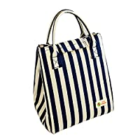ShineMind Picnic Travel Insulated Tote - Multiple Pockets Reusable bag Durable & Handles Ideal For Meal Preparation (Royalblue)