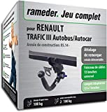 Rameder Attelage rotule démontable pour Renault TRAFIC III Autobus/Autocar +...