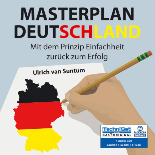 Masterplan Deutschland, 4 Audio-CDs