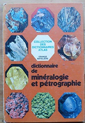 Dictionnaire de minéralogie et pétrographie par De Michele Vicenzo