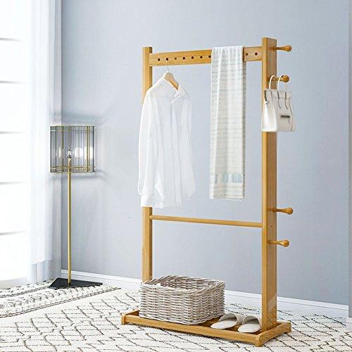 Bambus Garderobe Schlafzimmer Wohnzimmer stehen moderne einfache ...