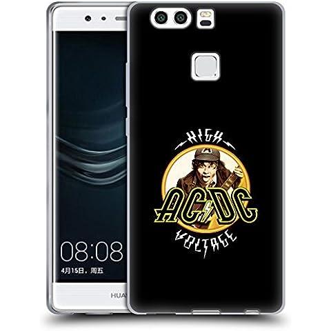 Ufficiale AC/DC ACDC High Voltage Titoli Canzoni Cover Morbida In Gel Per Huawei P9 Plus