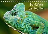 Das Leben der Reptilien (Tischkalender 2018 DIN A5 quer): Echsen, Schildköten, Schlangen aus aller Welt (Monatskalender, 14 Seiten ) (CALVENDO Tiere) [Kalender] [Apr 01, 2017] kattobello, k.A.