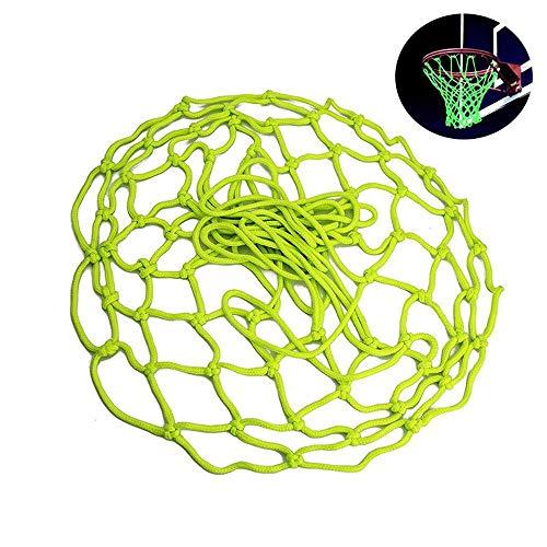 FOONEE Glow Basketballnetz, Basketball-Tornetz, Universal Basketballnetz, Ersatz für drinnen und draußen