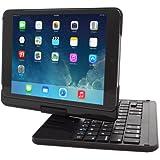 iPad Mini Keyboard, Snugg™ [Black] Wireless Bluetooth iPad Mini 1/2/3 Keyboard Case Cover [Lifetime Guarantee] 360° Degree Rotatable Keyboard