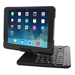 Snugg™ iPad Mini & iPad Mini 2 Retina 360 Degree Rotatable Keyboard Case - High Quality Cover with Ultra Slim Swivel Bluetooth Keyboard - Apple iPad 360 Degree Rotating Keyboard Compatible with iPad Mini & iPad Mini 2 - Lightweight, Quality and Easy to Set up!