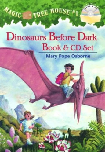 Magic Tree House #1: Dinosaurs Before Dark Book & CD Set (Magic Tree House (R), Band 1)