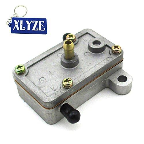 xlyze einzigen Steckdose Kraftstoff Pumpe für Mikuni df44Nachman 07-187-01df44-211Schneemobil Ski Doo Artic Cat Go Kart UTV -