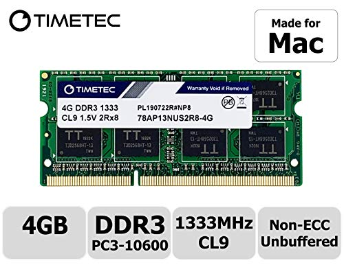 Timetec Hynix IC compatible with Apple 4GB DDR3 1333MHz