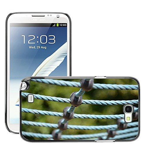 Hülle Case Schutzhülle Cover Premium Case // M00290394 Spielplatz Turngeräte // Samsung Galaxy Note 2 II N7100