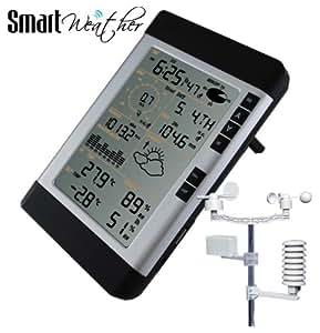 SmartWeather – Station Météo professionnelle sans fil avec interface pour ordinateur