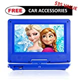 Best Portable Dvd Players For Children - 9.5 Inch Portable DVD Player for Kids Review