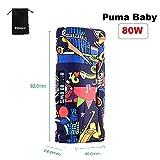 E Cigarette Vapor Storm Puma Baby 80W TC leggero con schermo da 0,91 pollici luminoso e design unico Graffiti Series no 18650 Batteria senza nicotina senza liquido (freedom)