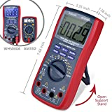 AstroAI Digital Multimeter, TRMS 6000 Counts Multimeters Manual and Auto Ranging; Measures Voltage, Current, Resistance, Continuity, Capacitance, Frequency; Tests Diodes, Transistors, Temperature, Red