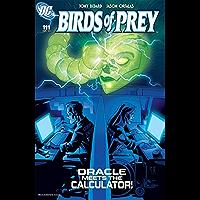 Birds of Prey (1999-2009) #111 (English Edition)