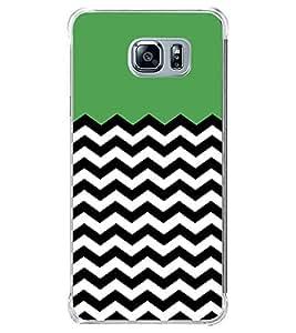 Zig Zag Line Pattern 2D Hard Polycarbonate Designer Back Case Cover for Samsung Galaxy Note5 :: Samsung Galaxy Note5 N920G :: Samsung Galaxy Note5 N920T N920A N920I