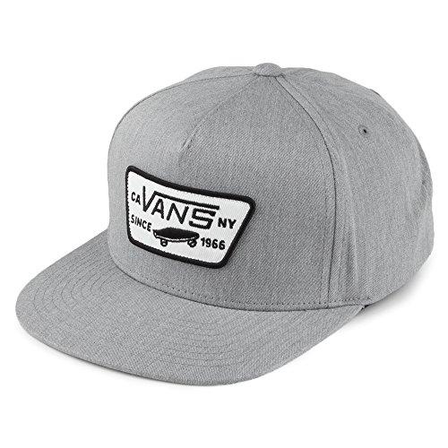 Vans Hats Kids Full Patch Snapback Cap - Grey