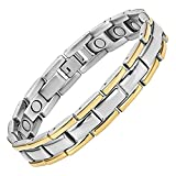 Jeracol Magnetic Therapy Bracelets Pain Relief For Arthritis And Carpal Tunnel Fathers Day