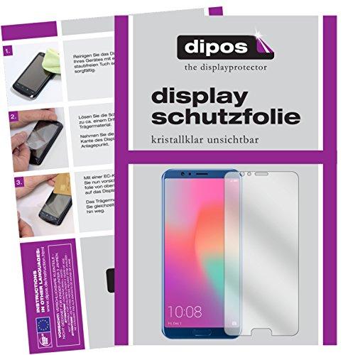 dipos I 6X Schutzfolie klar passend für Huawei Honor View 10 Folie Bildschirmschutzfolie