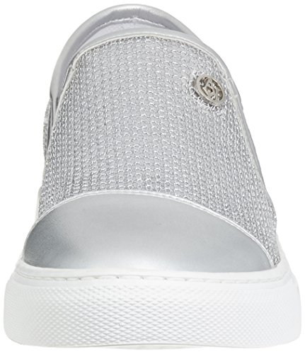 Armani Jeans Damen 9251957p583 Sneakers Silber (Argento)