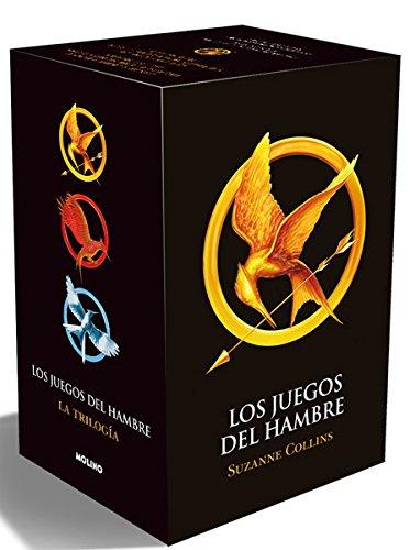 PACK TRILOGIA LOS JUEGOS DEL HAMBRE (ESTUCHE): LOS JUEGOS DEL HAMBRE; EN LLAMAS; SINSAJO - OBRA COMPLETA - EDICIONES MOLINO (2012)