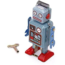 Robot De Cuerda Juguete Regalo De Coleccion Clave Verde Claro + Rojo Robot Toy