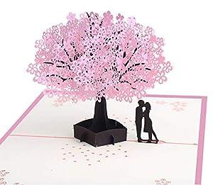 Tarjetas de felicitación Love 3D