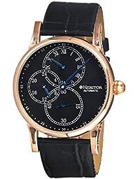 heritor automatic HERHR1104 - Reloj , correa de cuero color negro