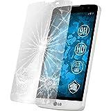 PhoneNatic 2 x Glas-Folie klar kompatibel mit LG L Bello - Panzerglas für L Bello