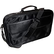 Deluxe negro portátil funda bolsa + correa para el hombro 4LG C400, E644, P430portátil