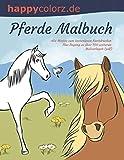 Pferde Malbuch. Alle Motive zum kostenlosen Nachdrucken. Plus Zugang zu über 700 weiteren Malvorlagen (pdf).