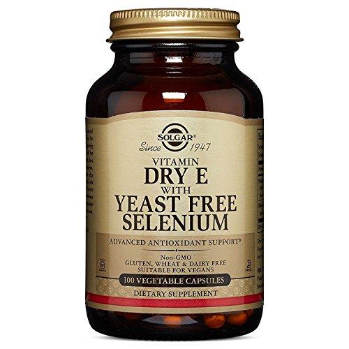 Solgar, Vitamin E with Yeast-Free Selenium Vegetable Kappenules, 100