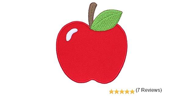 Pi/èce Brod/ée /à Coudre ou Coller au fer /à Repasser pour Enfant et B/éb/é PatchMommy Patch /Écusson Brod/é Thermocollant en Forme de Pomme