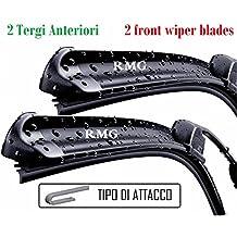 RMG Coppia 2 spazzole tergicristallo anteriori per ANTARA Prodotta dal anno 2006 al 2015 Misure spazzole 60 e 40 cm