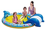 Polygroup 114033 - Kinderpool mit Rutsche in Form eines Wals, ca. 216 x 155 x 51 cm