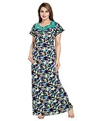 AV2 Women Floral Print Feeding / Maternity / Nursing Nighty