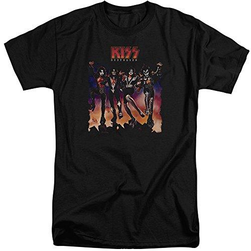 Kiss Herren T-Shirt Schwarz