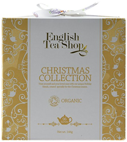 English Tea Shop Organic Christmas Collection Gold 96 Sachet Bags (Pack of 2)