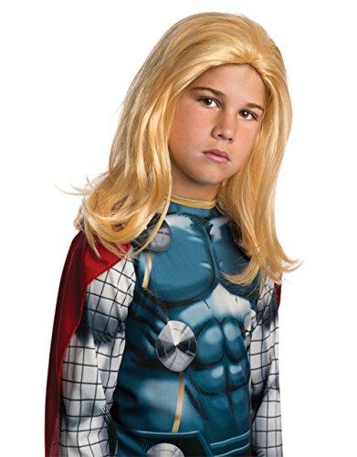 Perücke, Avengers-Thor, Kinder Kostüm (Thor Zubehör)