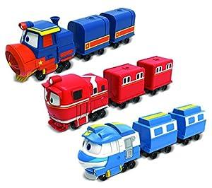 Robot Trenes-Mini Tren Kay, Victor, Alf-Modelo Aleatorio, 80192, NC, 17cm