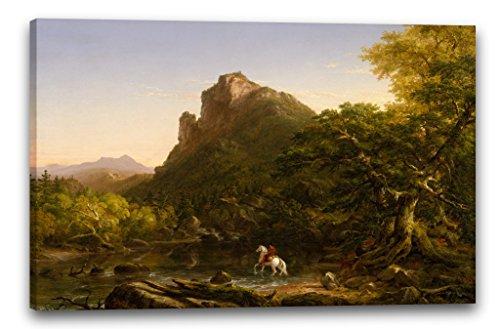 Printed Paintings Leinwand (120x80cm): Thomas Cole - der Berg Ford