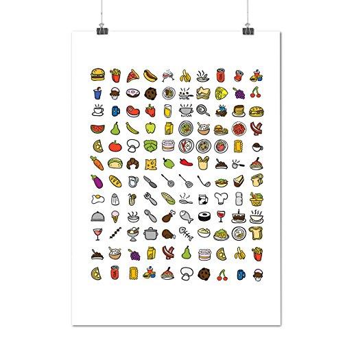 multiple-food-fun-eating-choice-matte-glossy-poster-a3-42cm-x-30cm-wellcoda